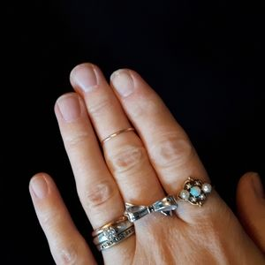 Kate Spade Silver Color Ring